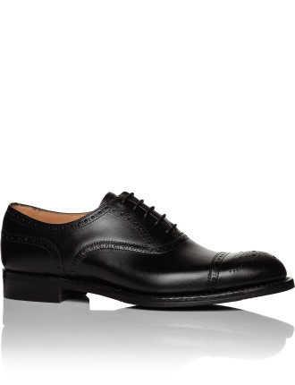 Wilfred D Burnished Calf Semi Brogue