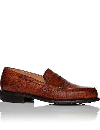 Howard Grained Leather Penny Loafer