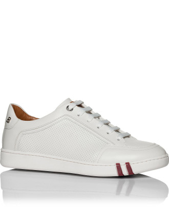Wilson Perforated Leather Low Profile Sneaker