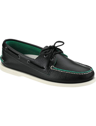 Two Tone A/O 2 Eye Classic Boat Shoe
