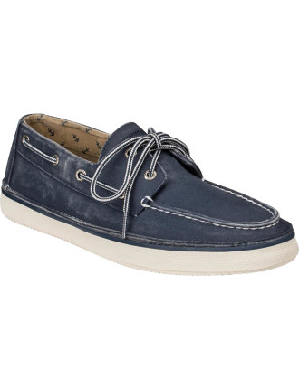 Cruz 2 Lite Canvas Sneaker W/ Boat Upper