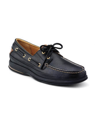 Gold Boat Mens Shoe