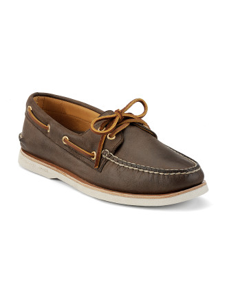 Gold A/O 2-Eye Boat Shoe