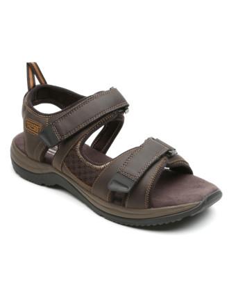M Xcs 2 Strap Velcro Sandal