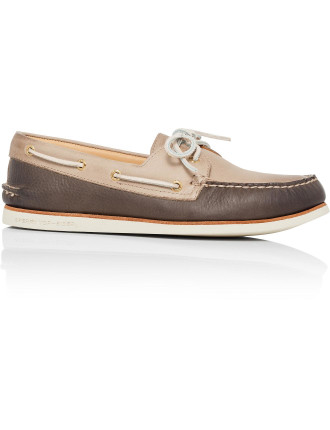 Gold A/O  Boat Shoe