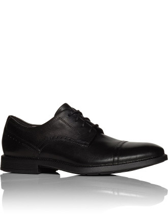 MEN'S DRESSPORTS MODERN CAP TOE BLACK LEA