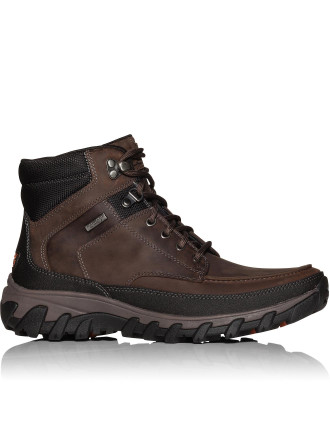 COLD SPRINGS PLUS MOC TOE BOOT BROWN