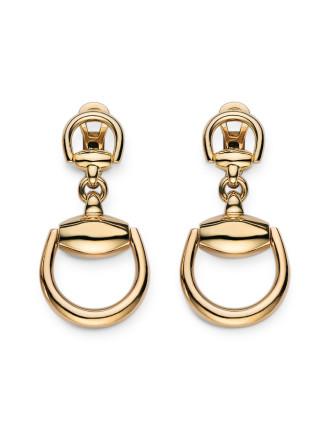 Horsebit Collection Earring