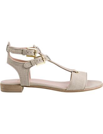 Artsy Flat Two Strap Sandal