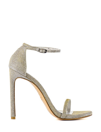 Nudist High Heel Ankle Strap Sandal