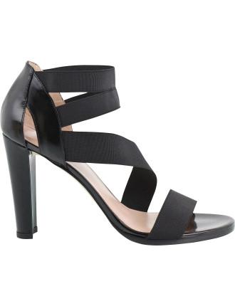 Streetchup Stretch Elastic Sandal On Heel