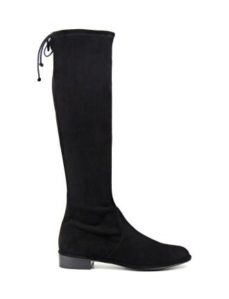 Kneezie Stretch Knee Hi Flat Boot