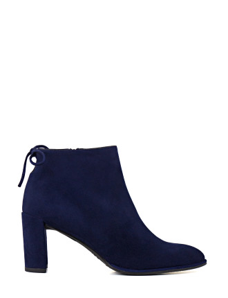 Lofty Back Tie Ankle Boot