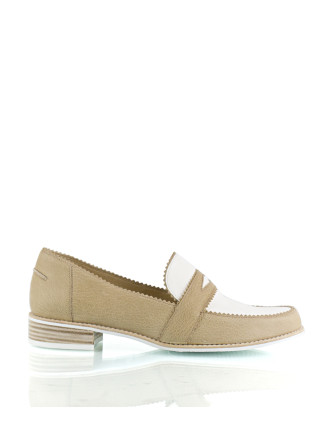 Schooldays Two Tone Penny Loafer