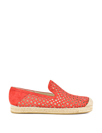 County Laser Cut Espadrille