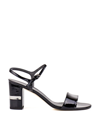 Single Block Heel Sandal
