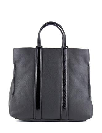 Overtopshop Leather Shopper Bag