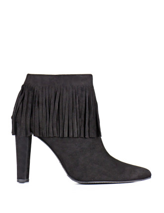 Fringetimes Fringed Ankle Boot