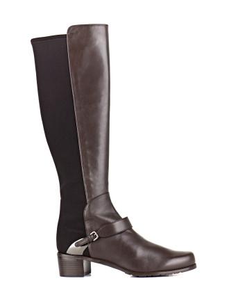 Caballero Knee High Flat Boot
