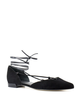 Gilligan Lace Up Ballet Flat