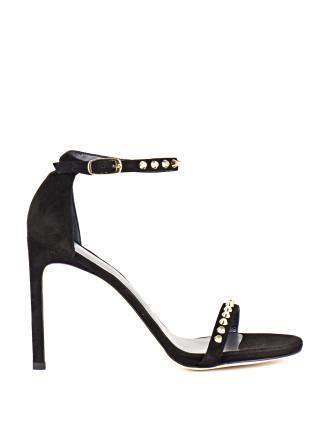 Whatastud Studded High Ankle Strap Sandal