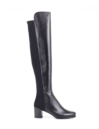 5050mid Mid Heeled Over The Knee Boot