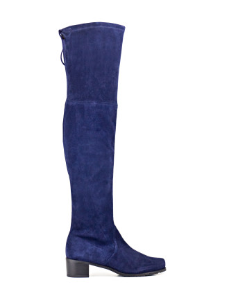 Midland Mid Heel Over The Knee Boot