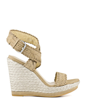Elixir Crossover Wedge Sandal