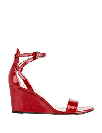 Backdraft Ankle Strap Wedge Sandal