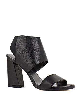 Inpower Two Strap Block Heel Sandal
