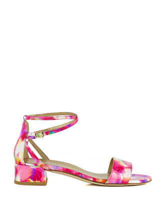 Peewee Low Ankle Strap Sandal