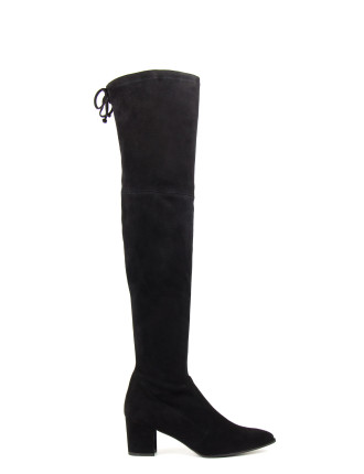 Thighland Pointed Toe Block Heel Otk Boot