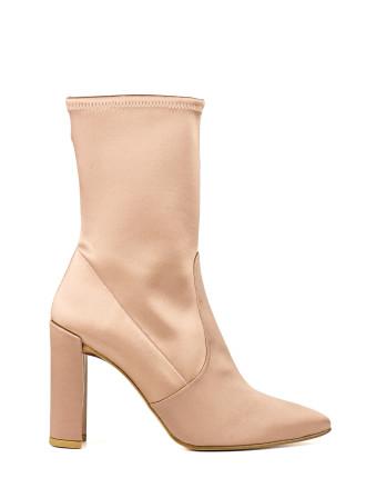 Clinger Satin Stocking Boot