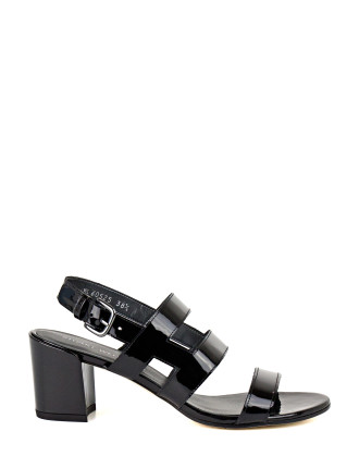 Milanese Mid Heel Cage Sandal
