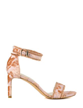 Frayed Frayed-Edge Sandal