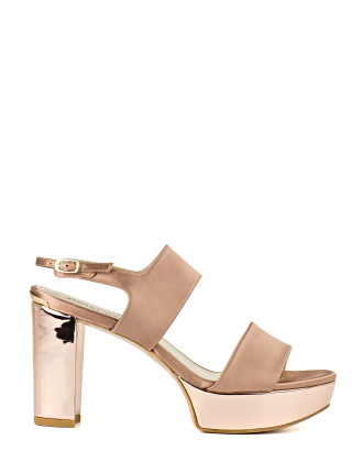 Soocool Two-Strap Platform Sandal