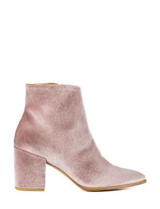 Trendi Block Heel Ankle Boot