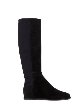 Rampion Knee High Hidden Wedge Boot