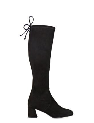 Terra Knee High Mid Heel Boot