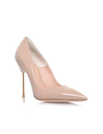 Kurt Geiger London Nude Court Shoe