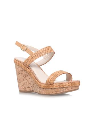 Carvela Kay Tan Wedge Sandal