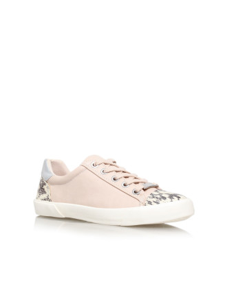 Carvela Light Low Top Trainers Pale Pink
