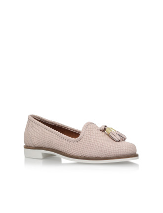 Match Nude Flat Loafer Shoes