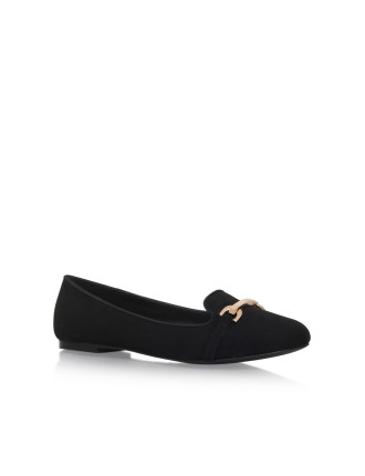 Mingle Black Loafer Shoe