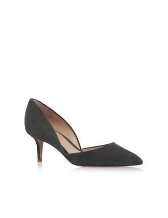 Talli Khaki Court Shoes