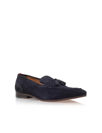 Coleman Navy Loafer Shoes
