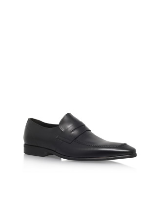 Gingers Black Loafer Shoes