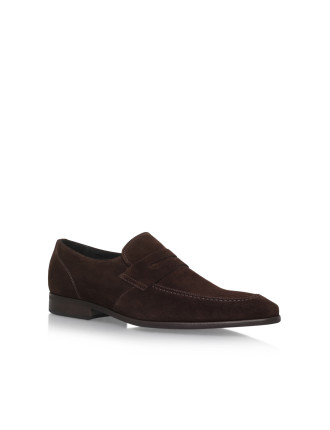 Gingers Brown Loafer Shoes
