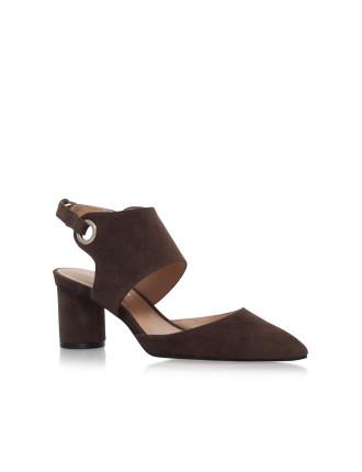 Maddox Khaki Court Shoes