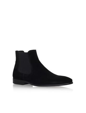 Francis Black Chelsea Boots